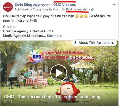 Branded content trên Facebook là gì?
