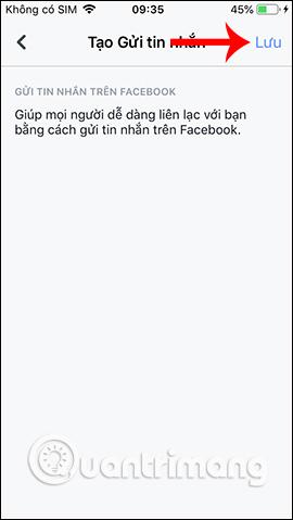 Đồng ý thêm nút gửi tin nhắn
