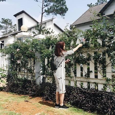 Cũng giống như Đà Lạt, Măng Đen có rất nhiều ngôi biệt thự nằm ẩn mình trong rừng thông xanh. Ảnh: bibithanhtuyen